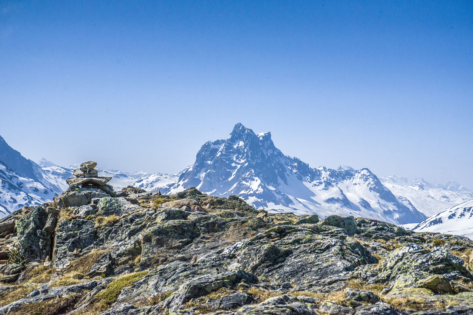 Hiking and mountaineering